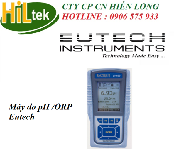 máy đo pH 600